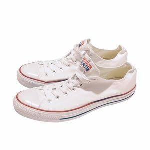 Converse All Star White Low Tops Mens size 13
